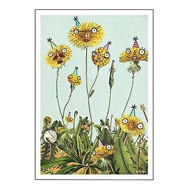 Hallmark Birthday Greeting Card, Inside: Weed Like to Wish You a Happy Birthday (0349ZZB1295)
