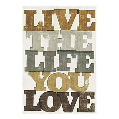 Hallmark Birthday Greeting Card, Live the Life You Love (0295QUM4207)