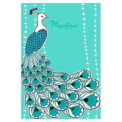 Hallmark Birthday Greeting Card, Magnifique! (0395QUF3034)