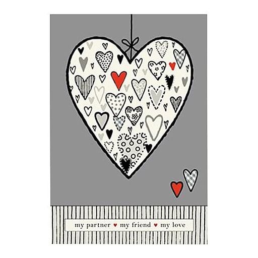 Hallmark Birthday Greeting Card, My Partner My Friend My Love (0395QUM4181)