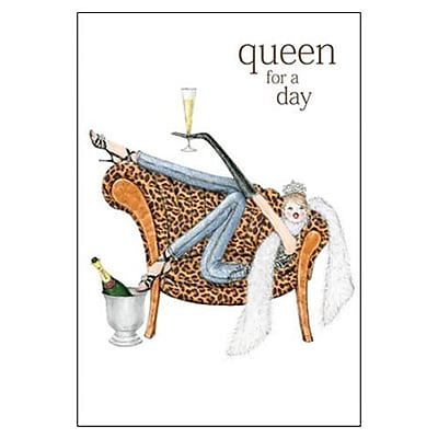 Hallmark Birthday Greeting Card, Queen for a Day (0295QUF3198)
