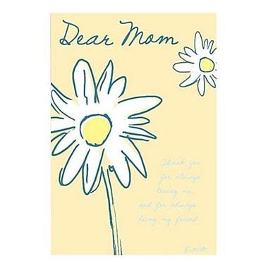 Hallmark Birthday Greeting Card, Thank You for Always Loving Me, and for Always Being My Friend. Dear Mom (0375QUF3140)