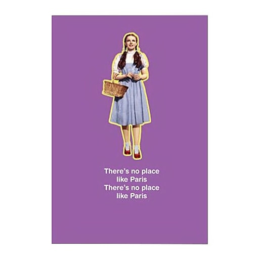 Hallmark Birthday Greeting Card, There's no Place Like Paris There's no Place Like Paris (0250QUH3300)