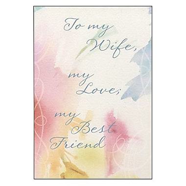 Hallmark Birthday Greeting Card, to My Wife, My Love, My Best Friend (0295QUF3168)