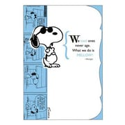 Hallmark Birthday Greeting Card, We Cool Ones Never Age. What We Do is Mellow! -Snoopy (0250QUB2231)