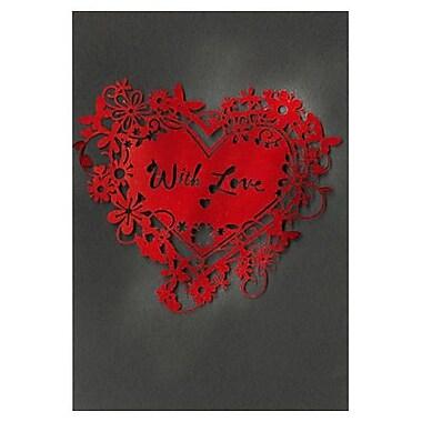Hallmark Birthday Greeting Card, with Love (0695QUF3185)