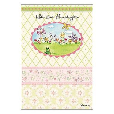 Hallmark Birthday Greeting Card, with Love, Granddaughter (0295QUF3126)