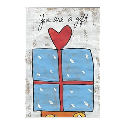 Hallmark Birthday Greeting Card, You are a Gift (0295QUB2260)