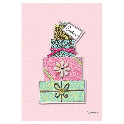 Hallmark Birthday Greeting Card, You are a Gift. Wishing You a Happy Birthday Sister (0495QUF3162)