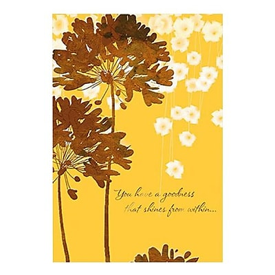 Hallmark Birthday Greeting Card, You Have a Goodness that Shines From Within (0295QUM4121)