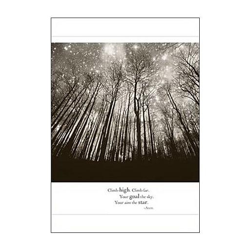"""Hallmark Blank Greeting Card, """"Climb High. Climb Far. Your Goal, the Sky. Your Aim, the Star. -Anon."""" (0295QBK1235)"""