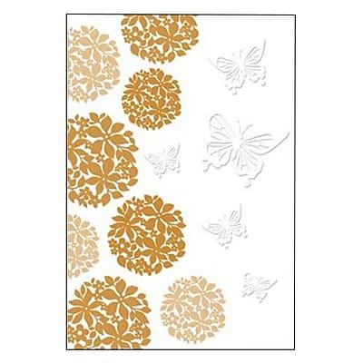 Hallmark Blank Greeting Card, Embossed Copper Bronzing (0495QBK1247)