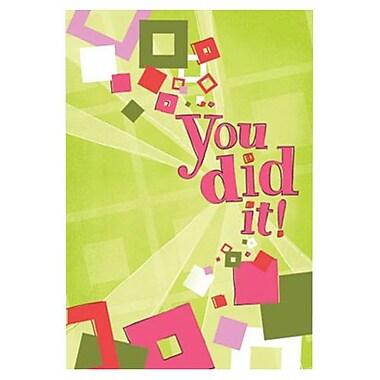 Hallmark Congratulations Greeting Card, You Did it! (0595QAX1091)
