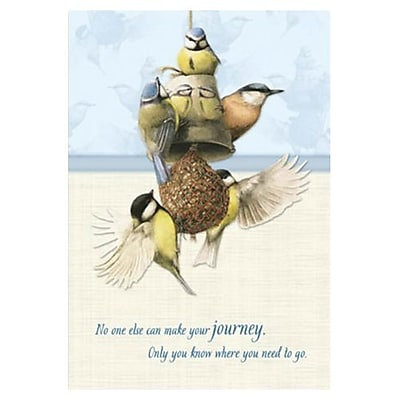 Hallmark Cope Greeting Card, No One Else Can Make Your Journey. Only You Know Where You Need to Go (0395QFR1671)