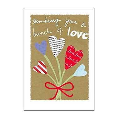Hallmark Cope Greeting Card, Sending You a Bunch of Love (0295QFR1700)