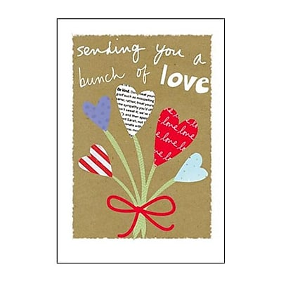 Hallmark Cope Greeting Card, Sending You a Bunch of Love (0295QFR1700)