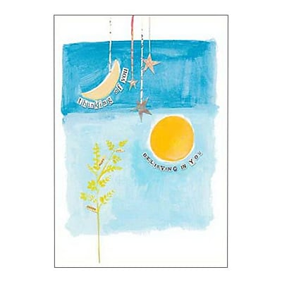 Hallmark Cope Greeting Card, Thinking of You Believing in You (0250QFR1653)