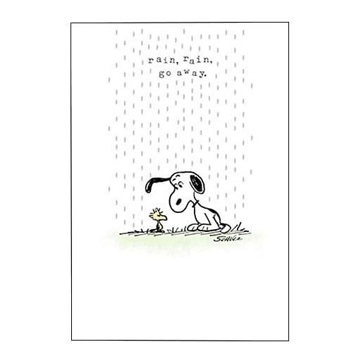 Hallmark Encouragement Greeting Card, Rain, Rain, go Away (0395QFR1705)