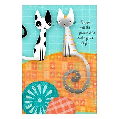 Hallmark Friendship Greeting Card, There are the People Who Make Your Day (0250QFR1605)
