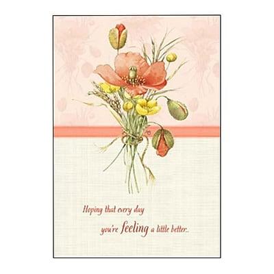 Hallmark Get Well Greeting Card, a Little Stronger (0295QGW1736)