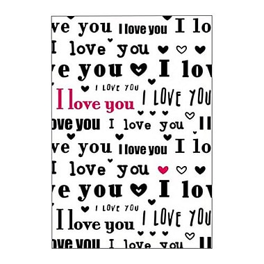 Hallmark Love Greeting Card, I Just Can't Say it Enough. I Love You (0250QUL3900)