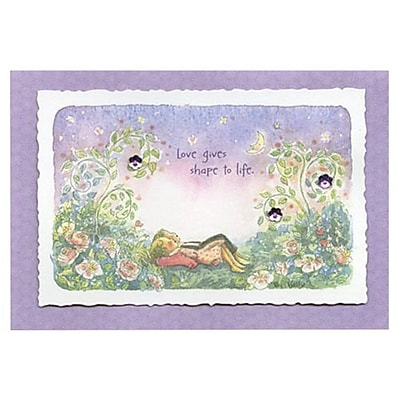 Hallmark Love Greeting Card, Love Gives Shape to Life (0495QUL3908)