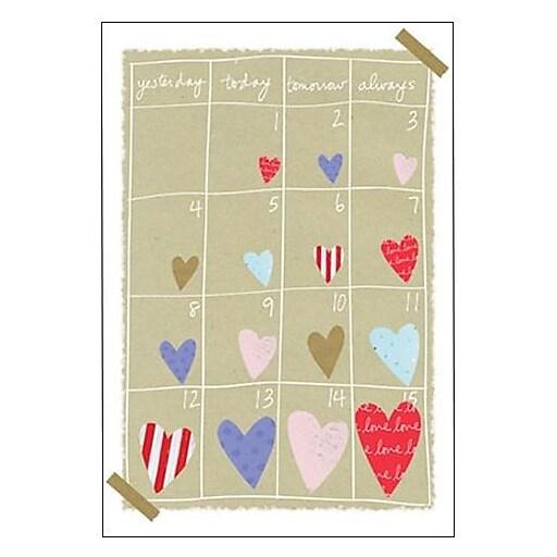 Hallmark Love Greeting Card, Yesterday Today Tomorrow Always (0395QUL3920)