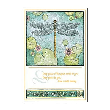 Hallmark Sympathy Greeting Card, Deep Peace of the Quiet Earth to You Deep Peace to You (0295QSY1917)