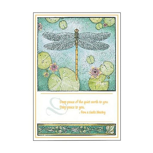 Hallmark Sympathy Greeting Card, Deep Peace of the Quiet Earth to