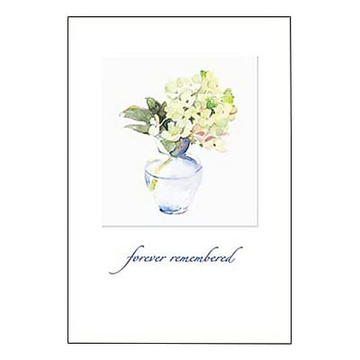 Hallmark Sympathy Greeting Card, Forever Remembered (0375QSY1937)