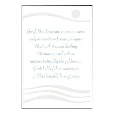 Hallmark Sympathy Greeting Card, May They Bring You Peace (0375QSY1939)
