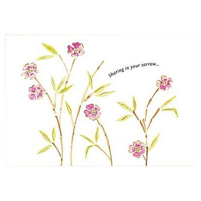 Hallmark Sympathy Greeting Card, Sharing in Your Sorrow (0495QSY1946)