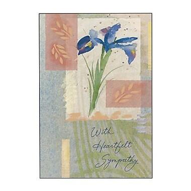 Hallmark Sympathy Greeting Card, with Heartfelt Sympathy (0295QSY1918)