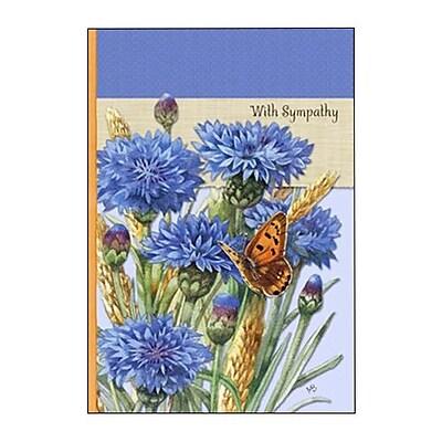 Hallmark Sympathy Greeting Card, with Sympathy (0295QSY1922)