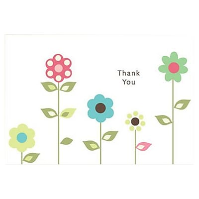 Hallmark Thank You Greeting Card, Thank You (0495QTY2063)