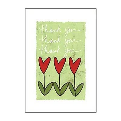 Hallmark Thank You Greeting Card, Thank You Thank You Thank You (0295QTY2053)