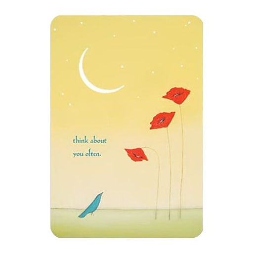 Hallmark Thinking of You Greeting Card, Think About You Often (0295QFR1648)