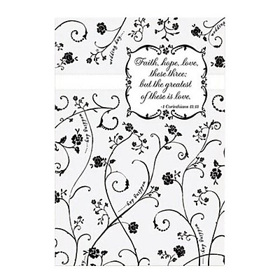 Hallmark Wedding Greeting Card, Faith, Hope, Love, These Three; but the Greatest of These is Love (0375QUW4520)