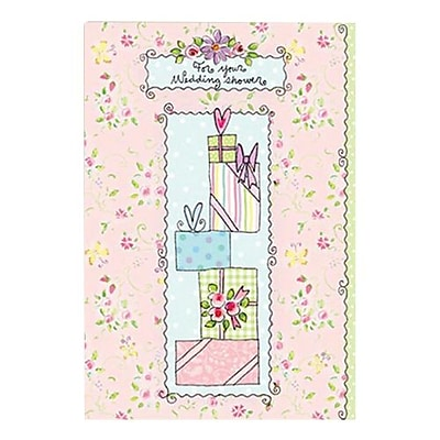 Hallmark Wedding Greeting Card, for Your Wedding Shower (0295QUW4543)