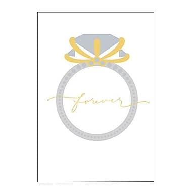 Hallmark Wedding Greeting Card, Forever (0295QUW4548)
