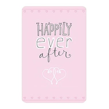 Hallmark Wedding Greeting Card, Happily Ever After (0250QUW4505)