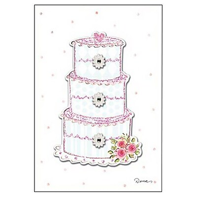 Hallmark Wedding Greeting Card, Wishing You a Lifetime of Love (0495QUW4526)