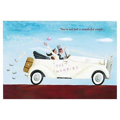 Hallmark Wedding Greeting Card, You?re Not Just a Wonderful Couple Just Married (0295QUW4511)