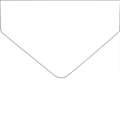 Royal Consumer Geographics Envelopes, White, 25/Pack (48459)