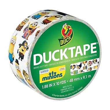 Duck® Licensed Duct Tape, 10 yds. Multicolor (284081)