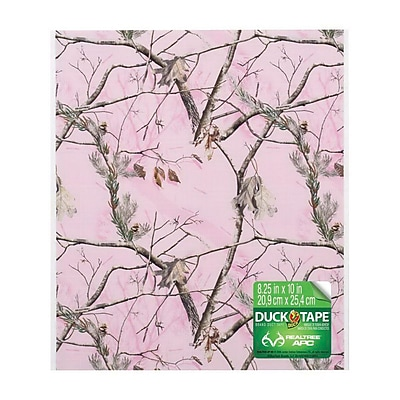 Duck® Printed Duct Tape Sheet, 0.277 yds. Pink (283109)