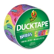 Duck® Printed Duct Tape, 10 yds. Multicolor (283171)