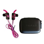 Zagg® IFFRRE-PK0 IFrogz FreeRein Stereo Reflect Headphones with Mic, Pink
