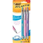 BIC® Medium Ballpoint Pen, 1.2mm, Multicolor, 3/Pack (VCGCAP31AST)