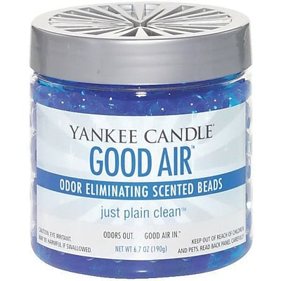 Yankee Candle Good Air® Odor Eliminating Beads, Just Plain Clean, 6.7 oz. (1255461)